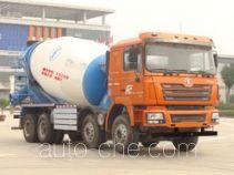 陕汽牌SX5318GJBDT366TL型混凝土搅拌运输车