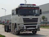Shacman SX5326TXFRR464C fire truck chassis