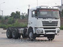 陕汽牌SX5336THBDV474型混凝土泵车底盘