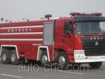 Jinhou SX5370GXFSG210 fire tank truck