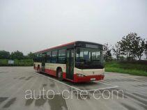 陕汽牌SX6120GJHEVNS型混合动力城市客车