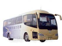 Shacman SX6123A luxury coach bus
