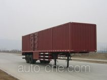 Shacman box body van trailer