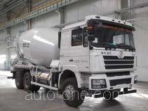 陕汽牌SXD5256GJBDR384TL型混凝土搅拌运输车