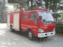 川消牌SXF5070GXFPM20W型泡沫消防车