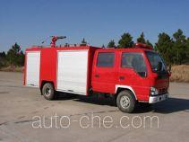 川消牌SXF5070GXFPM30W型泡沫消防车