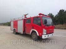 川消牌SXF5100GXFPM30W型泡沫消防车