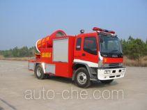 川消牌SXF5110TXFPY28型排烟消防车
