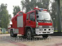 川消牌SXF5110TXFPY28W型排烟消防车