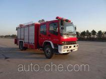 川消牌SXF5120TXFJY96型抢险救援消防车