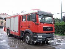 Chuanxiao SXF5130TXFJY120M fire rescue vehicle