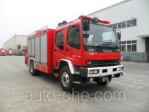 川消牌SXF5130TXFJY96/QL型抢险救援消防车