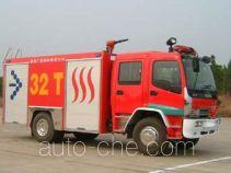 川消牌SXF5140GXFAP40-17-A型泡沫消防车