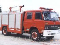 川消牌SXF5140TXFGL40P型干粉水联用消防车
