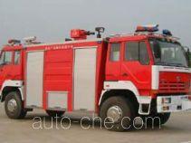 川消牌SXF5160GXFPM20PSX型泡沫消防车