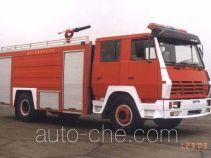 川消牌SXF5160GXFPM50型泡沫消防车