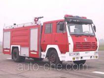 川消牌SXF5160GXFPM50S型泡沫消防车
