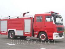 川消牌SXF5160GXFPM50Z型泡沫消防车