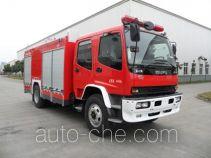 川消牌SXF5160GXFPM60/W型泡沫消防车