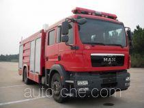 川消牌SXF5180GXFPM70M型泡沫消防车