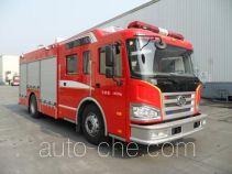 川消牌SXF5190GXFPM50/CA型泡沫消防车