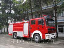 川消牌SXF5190GXFPM70HY型泡沫消防车