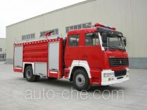 川消牌SXF5190GXFPM75ZZ型泡沫消防车