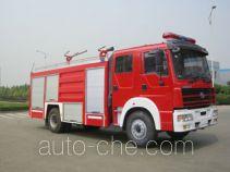 川消牌SXF5190TXFGL60HY型干粉水联用消防车