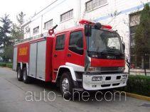 川消牌SXF5220GXFPM100W型泡沫消防车