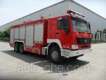 川消牌SXF5240TXFGF60型干粉消防车