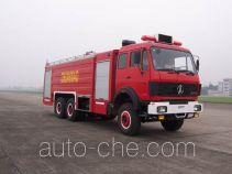 川消牌SXF5250GXFPM100B型泡沫消防车