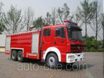 川消牌SXF5250GXFPM100HY型泡沫消防车