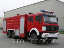 川消牌SXF5250GXFPM100ND型泡沫消防车