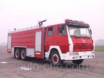 川消牌SXF5250GXFPM100S型泡沫消防车