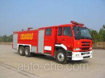 川消牌SXF5250GXFPM100UD型泡沫消防车