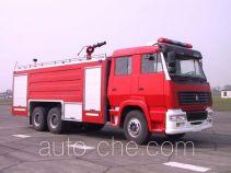 川消牌SXF5250GXFPM100Z型泡沫消防车