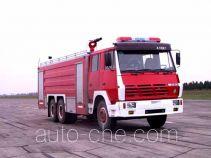 川消牌SXF5250GXFPM100ZP型泡沫消防车