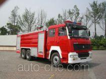 川消牌SXF5250GXFPM100ZZ型泡沫消防车