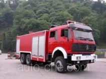 川消牌SXF5250GXFPM80SD型泡沫消防车