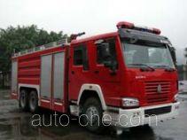 川消牌SXF5260GXFPM120HW型泡沫消防车