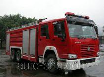 川消牌SXF5260GXFPM120HW1型泡沫消防车