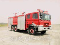 川消牌SXF5270TXFGL110P型干粉水联用消防车