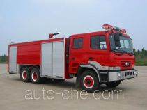 川消牌SXF5280GXFPM120P型泡沫消防车