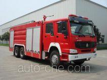 川消牌SXF5280TXFGL100/HW1型干粉水联用消防车