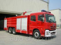 川消牌SXF5280TXFGL110UD型干粉水联用消防车