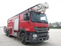 Chuanxiao SXF5300JXFJP32/B high lift pump fire engine