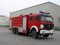 川消牌SXF5310GXFPM160ND型泡沫消防车