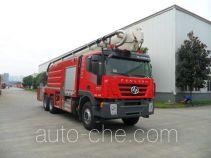 川消牌SXF5310JXFJP32型举高喷射消防车