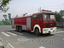 川消牌SXF5320GXFPM160HY型泡沫消防车