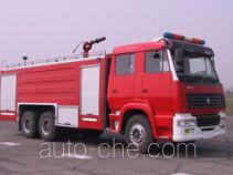 川消牌SXF5320GXFPM170Z型泡沫消防车